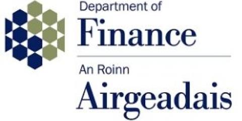 logo for the department of finance